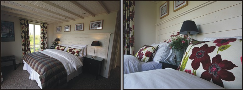 The Hembury Room at Mitchelcroft Bed and Breakfast at Scoriton, Buckfastleigh, Dartmoor, Devon
