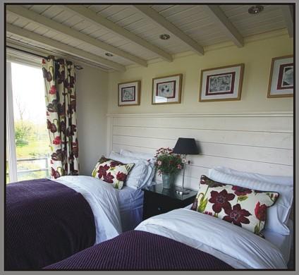 The Hembury Room at Mitchelcroft Bed and Breakfast - on Dartmoor at Scorriton, near Buckfastleigh, Devon